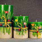Виробництво декоративних свічок на дому