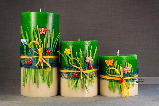 Виробництво декоративних свічок на дому 1