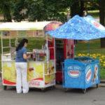Продаж морозива на вулиці